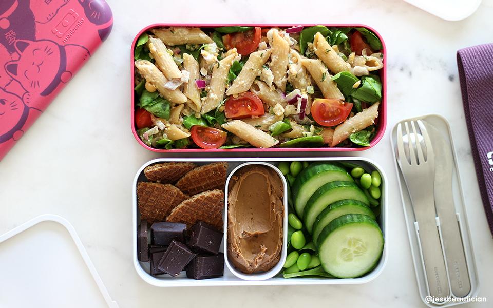 Chickpea Chuna-Mayo Pasta Salad