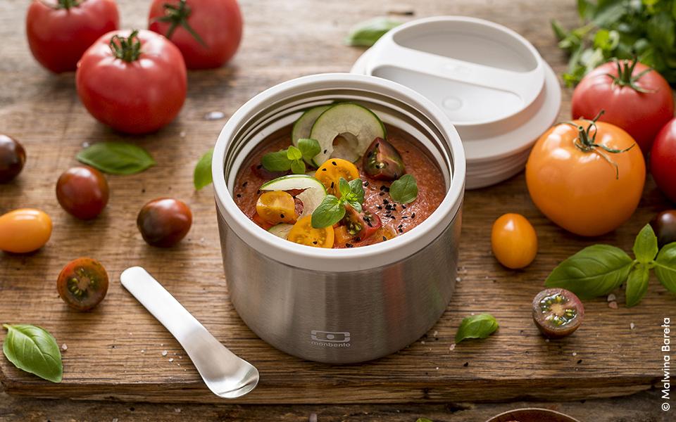 Coldtomato soup