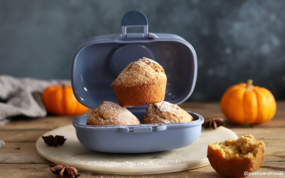Pumpkin and Chai Spices Muffins