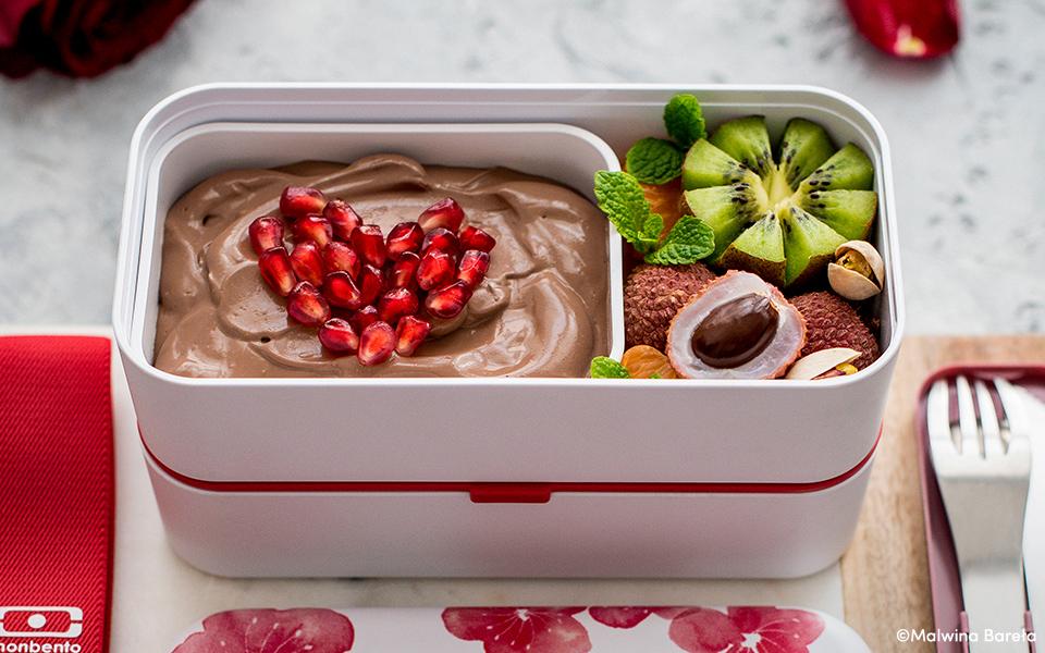 Valentine's day bento box