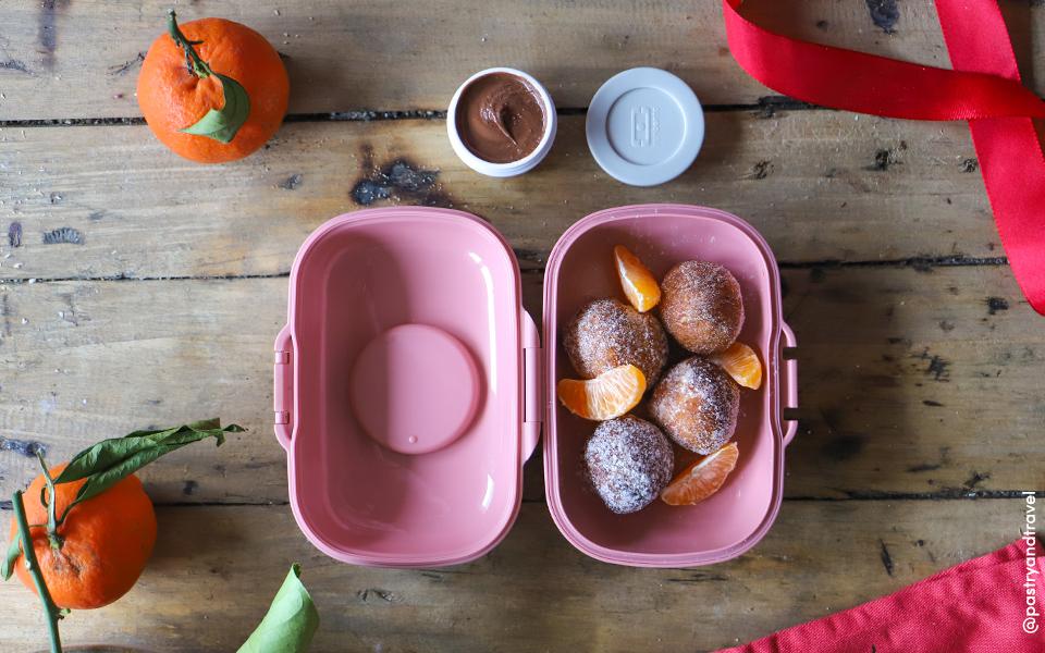 Mini almond milk donuts