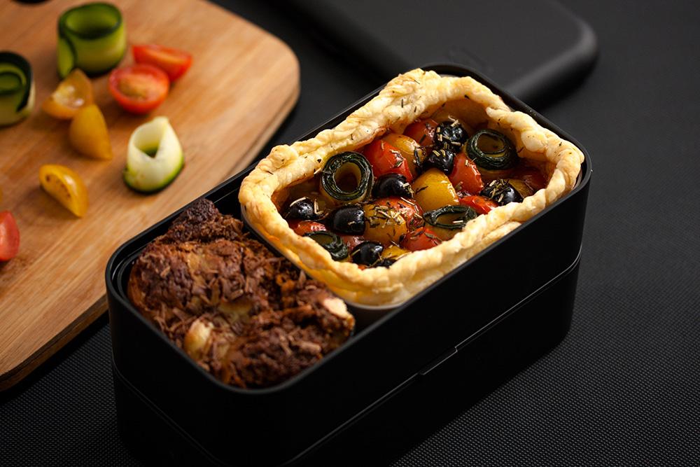 monbento's mini vegetable pie